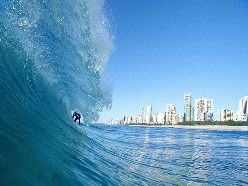 a surfers view of paradise
